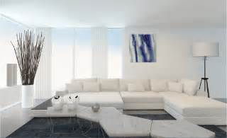 Minimalist Interior Designer White Interior Design With Brick Pillar Interior Design