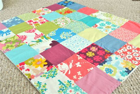 decke patchwork meadow friends baby patchwork blanket quilt fabric