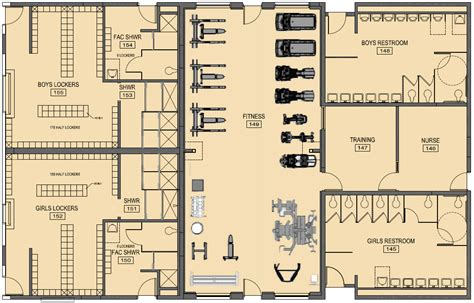 fitness center floor plan design lexington christian academy fitness center