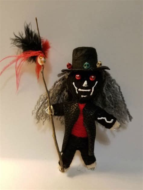 black doll voodoo voodoo doll authentic shop collectibles daily
