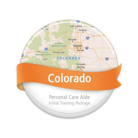 colorado personal care aide initial package