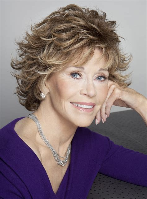 what color hair is fondas jane fonda short wavy layered synthetic hair capless wig 8
