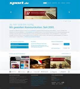 homepage web design inspiration xport full service online agency webdesign inspiration