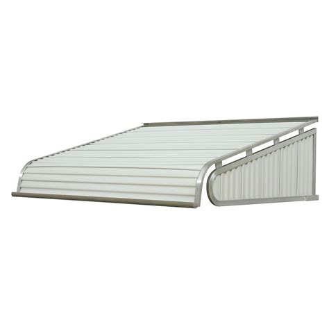 aluminum door awnings nuimage awnings 6 ft 1500 series door canopy aluminum