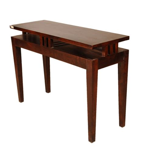 Multi Purpose Table by Sheesham Wood Multi Purpose Table By Mudra Console Tables Furniture Pepperfry Product