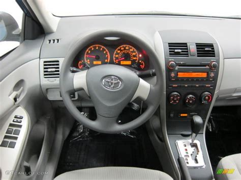 toyota corolla dashboard 2010 toyota corolla le ash dashboard photo 39532217