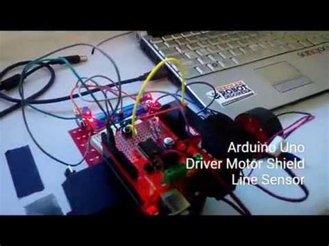 membuat robot wall follower membuat robot line follower arduino sekolah robot
