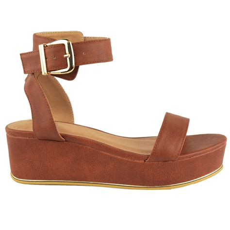 womens low heel wedge sandals womens low wedge heel ankle summer sandals