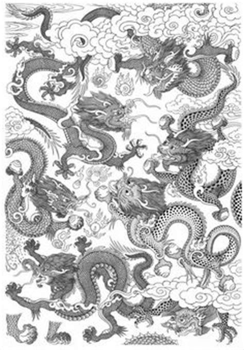 japanese tattoo encyclopedia dragons dragon japanese chinese fantasy landscape clouds
