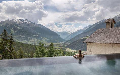 hotel bagni di bormio terme a bormio la vasca panoramica dei bagni vecchi