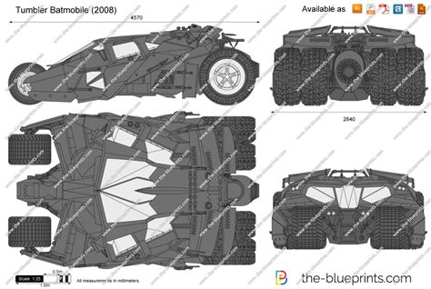 batman car drawing batman blueprints www pixshark com images galleries