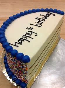 Half Birthday Cake For Baby 17 Best Ideas About Half Birthday Cakes On