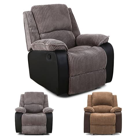 Sofas And Armchairs Uk by Postana Jumbo Cord Fabric Power Recliner Armchair Electric