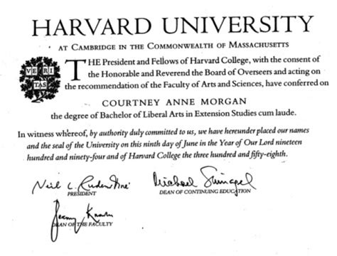 Harvard Extended Mba by Does The Arunma Oteh Situation Prove Harvard Degrees Are