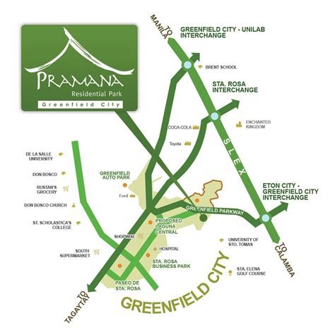 Mba Ateneo Sta Rosa by Pramana Residential Park Lots For Sale Greenfield Sta Rosa