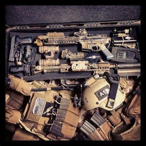 special operator gear operators load out guns and gear gears