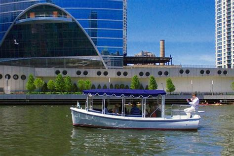 chicago electric boat riverwalk vendor adding 12 passenger electric boat for