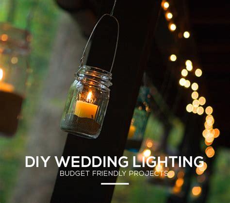 unique weekend diy wedding lighting ideas and projects - Diy Wedding Lighting Ideas