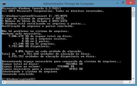 format pendrive z fat32 na ntfs como converter um disco r 237 gido ou um pen drive de fat32
