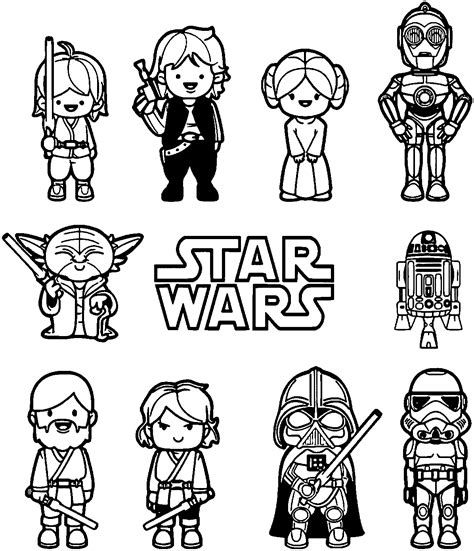 baby wars coloring pages coloring pages starwars coloring pages starwars