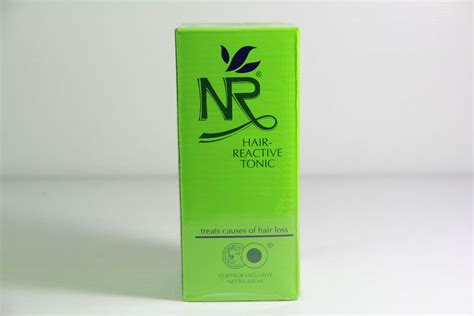 Nr Green Reactive Tonic 200ml toko kosmetik dan bodyshop 187 archive nr hair
