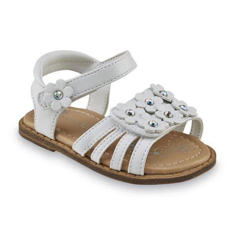 kmart toddler shoes wonderkids toddler s gabby white sandal shoes