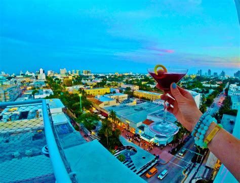 top bars in south beach best rooftop bars in miami and south beach