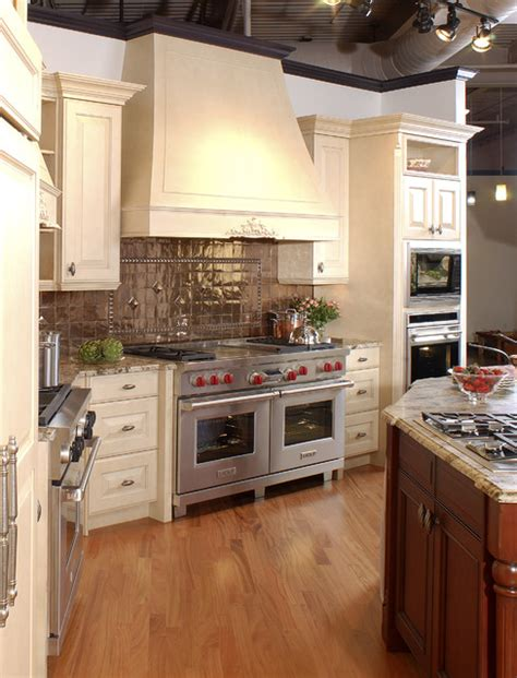 copper appliances kitchen copper and stainless kitchen traditional kitchen boston by clarke appliance showrooms