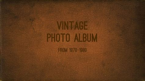 powerpoint templates photo album vintage photo album powerpoint template by 83munkis
