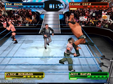 emuparadise wwe games wwf smackdown e iso