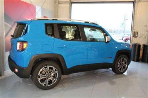 jeep renegade sierra blue jeep renegade topic photos renegade jeep forum marques