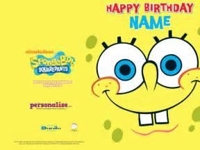 birthday card interesting and models spongebob birthday cards spongebob squarepants