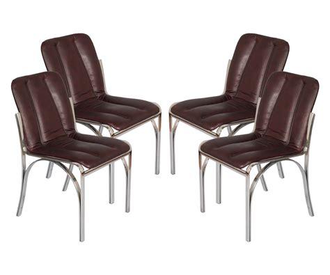 sedie acciaio e pelle quattro sedie 1970s chairs design anni 70 osvaldo borsani
