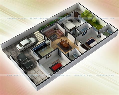 home design 3d unlimited 2d plan render and graphic designing by ndr digital at