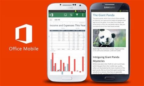 microsoft mobile office microsoft makes free office mobile available for android