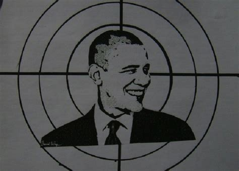 printable shooting targets obama twisted gun nuts use president obama effigy for target