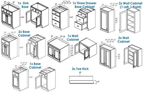 kitchen cabinet diagrams complete cathedral style all wood kitchen cabinet system