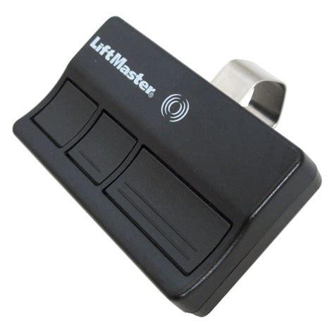 chamberlain  security  button visor gate garage door