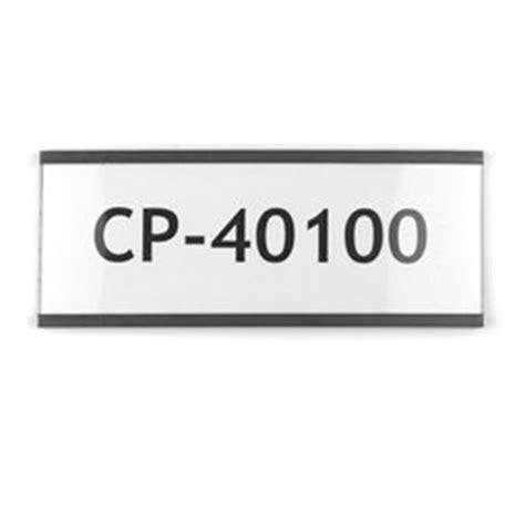 etichette magnetiche per scaffali etichette magnetiche 100 x 40 mm supermagnete it