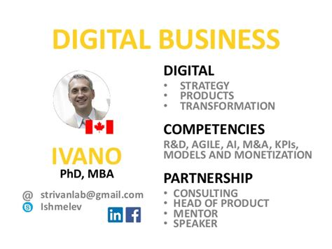 Mba Digital Transformation by Vimpelcom Transformation To Digital Business
