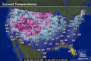 Usa Temperature Map by Pics Photos Weather Map Usa Today