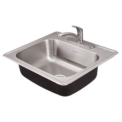 Prevoir Stainless Steel Drop In 1 Bowl Kitchen Sink