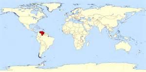 Venezuela On World Map by Venezuela World Map Onlineshoesnike