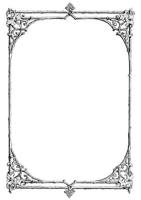 dibujo  colorear marco de ramas img  images