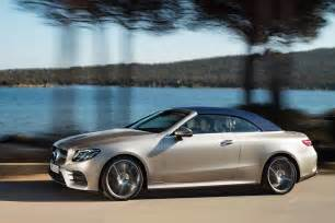 Mercedes E Class Convertible Merc Blows The Roof The Mercedes E Class Cabriolet At