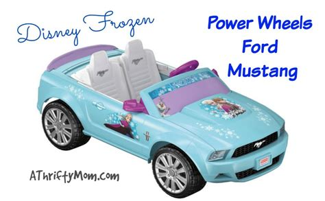 frozen mustang power wheels disney frozen ford mustang on sale