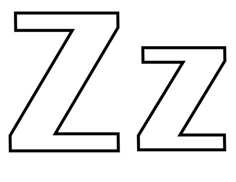 File Classic Alphabet Z At Coloring Pages For Kids Boys A To Z Coloring Pages