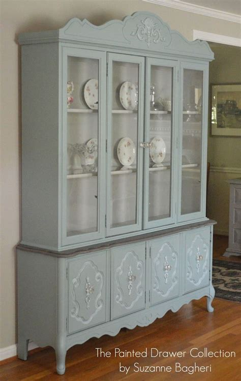 Hometalk   Vintage Bassett China Cabinet Gets a New LIfe