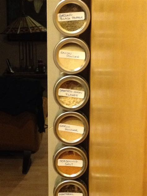Wall Mount Spice Rack Canada by How To Use A Sliver Of Wall Space For A Spice Rack Musely