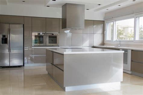 Rehau Kitchen Cabinets by Contemporary High Gloss Metallic Kitchen Kitchen Other